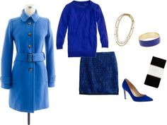 """""""Don't be blue..."""" by stacycooksey ❤ liked on Polyvore"""
