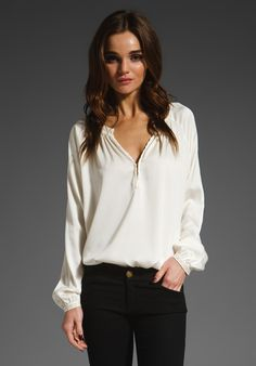 flowy and tucked - love the relaxed, loungy feel.