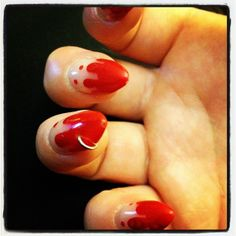 New Trend: Pierced Nails #Beauty #Cosmetology #Nails