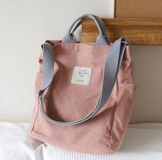 Korean version of the versatile canvas shoulder bag simple art slanting handbags Reusable Shopping Bags, Canvas Shoulder Bag, Casual Bags, Canvas Tote Bags, Canvas Purse, Canvas Handbags, Shoulder Strap, Shoulder Bags, Messenger Bag
