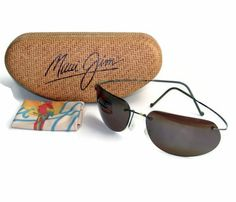 nice Maui Jim Ka'anapali Sunglasses - Titanium Polarized  MJ501-02 $279