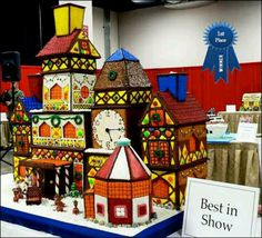 Santas Workshop (Gingerbread)