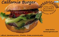 Burger of the Week ( California Burger) !!! YAM!! HAMBURGERSERIA