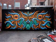 New absolutely amazing street art | From up North