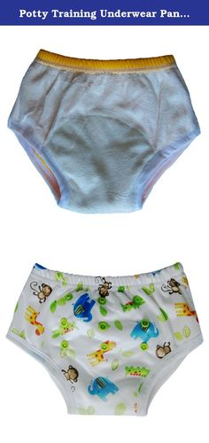 "Potty Training Underwear Pants for Toddler / Bamboo Inner, Safari. Pull-on potty training cloth diapers Waist: 15-19"" / Legs: 10"" / Adjustable Rise: 12-15"" / Typical Age: 1.5-2.5 yrs Inner fabric (touching skin) - 100% Rayon from Bamboo Absorbency Inner: Microfiber Terry Cloth Colored Outer Fabric - PUL 2 rows of snaps in front to adjust the rise (Small, Medium, Large) The ecoAble cloth diapers are tested and certified in compliance with the US CPSIA (Consumer Product Safety Information…"