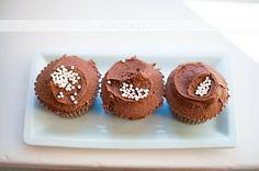 High Altitude Chocolate Cupcakes