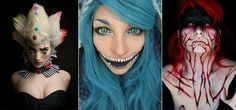 22 of the Best and Scary Halloween Makeup Ideas for Women
