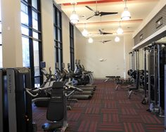 Our well equipped fitness center!