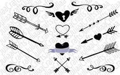arrows svg Arrow Silhouette, Silhouette Vector, Infinity Drawings, Arrow Clipart, Arrow Svg, Tribal Arrows, Clip Art, This Or That Questions, Boho