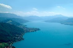 Lake Attersee - Bird View