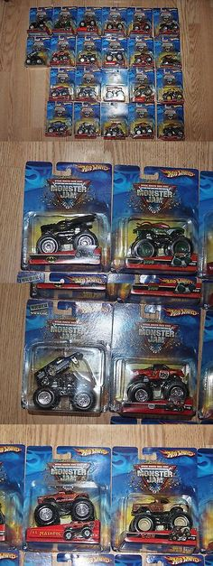 Diecast Toy Vehicles 51023: Hot Wheels Lot Monster Jam 22 Trucks Series New #22 35 14 Various Diecast Toy -> BUY IT NOW ONLY: $149.99 on eBay!