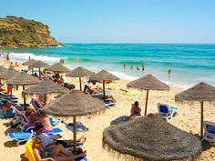 #Beach Praia do Burgau, Algarve, Portugal | via http://blog.turismodoalgarve.pt