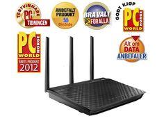 ASUS RT-N66U Dark Knight 11n N900 Router fra Mpx. Om denne nettbutikken: http://nettbutikknytt.no/mpx/
