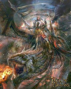 As incríveis ilustrações de fantasia de Pablo Fernandez