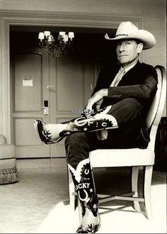 Lyle Lovett - love the boots!