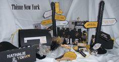 Faire-part et décoration mariage thème New York