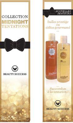 Retrouvez vite les nouvelles senteurs Bulles prestige et Délice gourmand dans vos parfumeries Beauty Success ! Succomberez-vous à la tentation ?