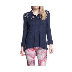 Compre Blusa Moché gola camisa Marinho na Zattini a nova loja de moda online da Netshoes. Encontre Sapatos, Sandálias, Bolsas e Acessórios. Clique e Confira!