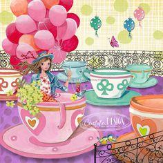 Greeting Cards Illustration 2015 by Cartita Design