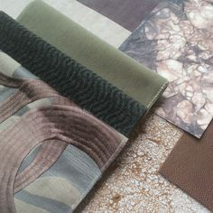 Material Board, Textures And Tones, Textile Texture, Tray, Boards, Sketches, Fabrics, Cushions, Inspire