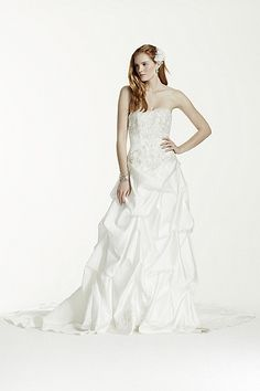 Strapless Sweetheart Pick-Up Ball Gown AI10012043