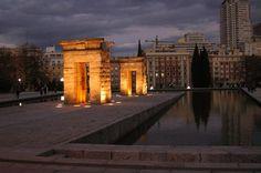 Templo de Debod  Paseo del Pintor Rosales  28008 Madrid, España