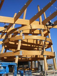 "Einkaufszentrum ""Carrefour"", Limbiate (I) - Rubner Holzbau - The ideal partner for large wood projects"