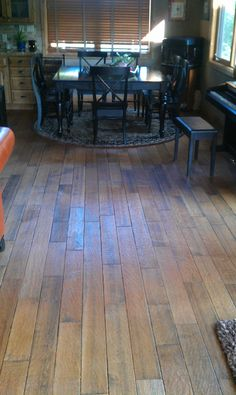 Style Selections 5-in W Prefinished Hickory Engineered Hardwood ...