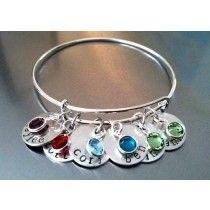 Sterling Silver Adjustable Bangle Bracelets