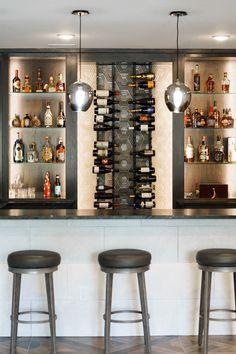 New York Projects, Caramel Vodka, Paul Gray, Wine Cellar, Basement, New Homes, House Ideas, Bar, Contemporary