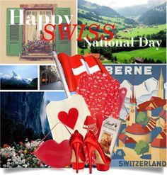 Swiss National Day  http://www.sandrascloset.com/happy-swiss-national-day/