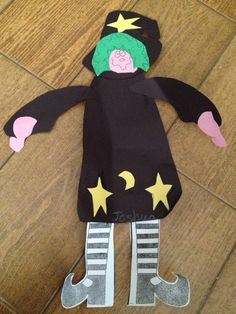 A witch made by josh, 5 years old • Art My Kid Made #halloween #witch