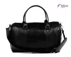 Women's weekend bag NANA black snake