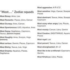 """""""Most..."""" Zodiac Signs @potraitdeyeol"""