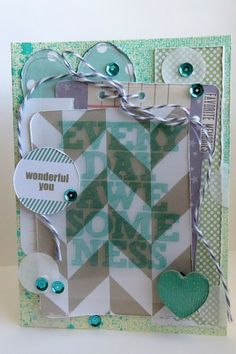 #card made with @Chic Tags and the #epiphanycrafts Shape Studio Tool Heart available at @Mad Monkey Krafts