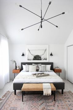 10 Engaging Clever Tips: Minimalist Home Office Black White minimalist kitchen decor doors.Minimalist Home Inspiration Benches minimalist bedroom cozy blankets.Minimalist Home Design Minimalism. Home Decor Bedroom, Scandinavian Design Bedroom, Modern Bedroom, Minimalist Bedroom Design, Home Bedroom, Bedroom Interior, Master Bedroom Design, Interior Design Bedroom, Home Decor