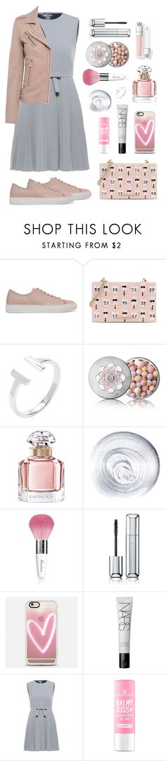 """Pretty grey"" by nataliyabay ❤ liked on Polyvore featuring Axel Arigato, Karl Lagerfeld, Guerlain, Casetify, NARS Cosmetics, RED Valentino and IRO"