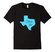 Amazon.com: Texas Gal T Shirt, Texas Girl Shirt, Shape of Texas Tee: Clothing