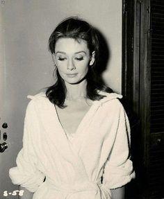 Still shot of Audrey Hepburn.