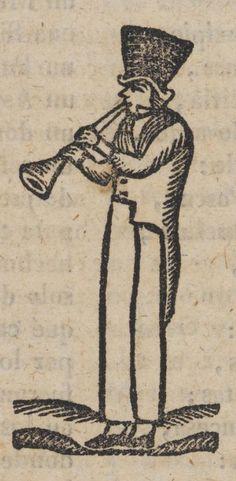 Hombre tocando el clarinete.