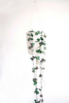 Image of String of hearts