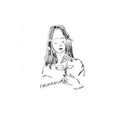 DAILY SKETCH . 011 . Good morning! 今日はなんだか良いことが起こりそうな予感楽しく笑顔で過ごせるおだやかな1日にしたいですね . @palmmaison . #artwork #illustration #illust #drawing #doodle #livefolk #lifefolk #pursuepretty #thatsdarling #livethelittlethings #liveauthentic #thehappynow #postitfortheaesthetic #lifework #moleskine #darlingmovement #abmlifeiscolorful #livecolorfully #flashesofdelight #simplethings #simplepleasures #finditliveit #モレスキン #イラスト #イラストレーション #らくがき #スケッチ ---------------------. by #kimixillustrations