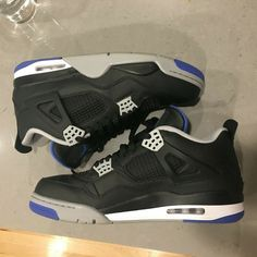89d8012ccfbc Nike Air Jordan IV Black-Blue 2018 Release Size 12 Used w  NO box  fashion   clothing  shoes  accessories  mensshoes  athleticshoes (ebay link)