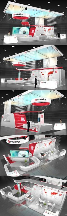 Lukoil exhibition stand on Behance - Mehr Technik auf www.veosion.de
