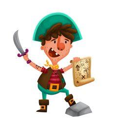 Kid Pirate! #pirate #kid #child #character