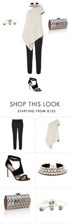 """Untitled #999"" by elenekhurtsilava ❤ liked on Polyvore featuring Etro, Rick Owens, Charles David, Shourouk and Judith Leiber"