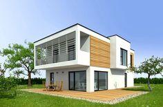 Modern Wohnen - weitere Informationen unter www.baumeinhaus.ch/hausfinder