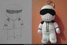 Le Stig de Top Gear - création en crochet
