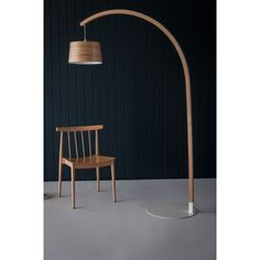 Stem Floor Lamp in Oak from Tom Raffield