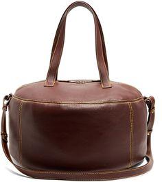 Shop Now - >  https://api.shopstyle.com/action/apiVisitRetailer?id=630204542&pid=uid6996-25233114-59 BALENCIAGA Air Hobo medium leather tote  ...